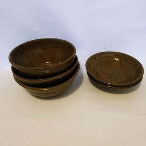 Home Pottery Bowls set 5